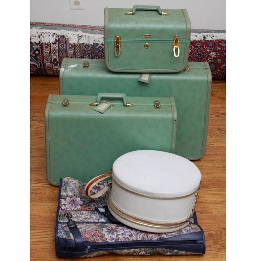 Vintage Luggage Set 108