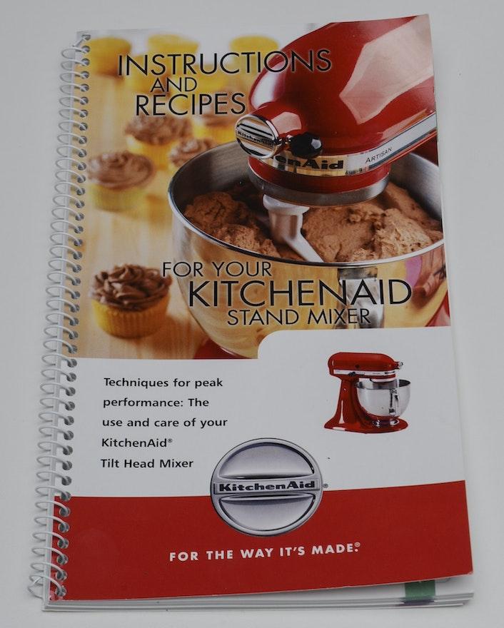Recipe Book For Kitchen Aid Mixer
