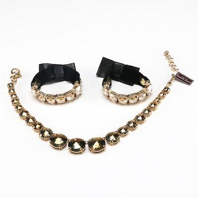 Collection of Henri Bendel Rhinestone Jewelry