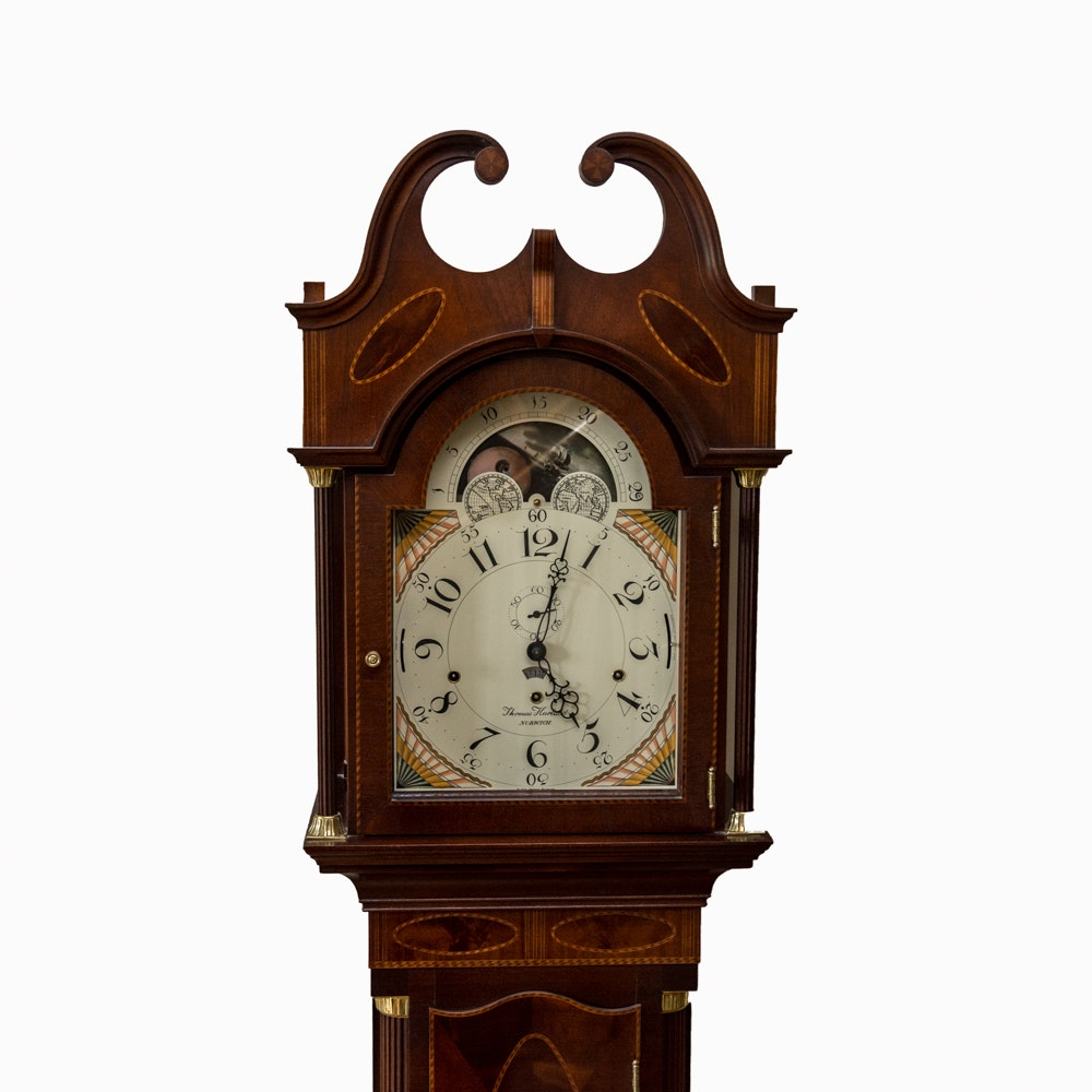 1959 Sligh Quot Thomas Harland Quot Tall Case Clock Ebth