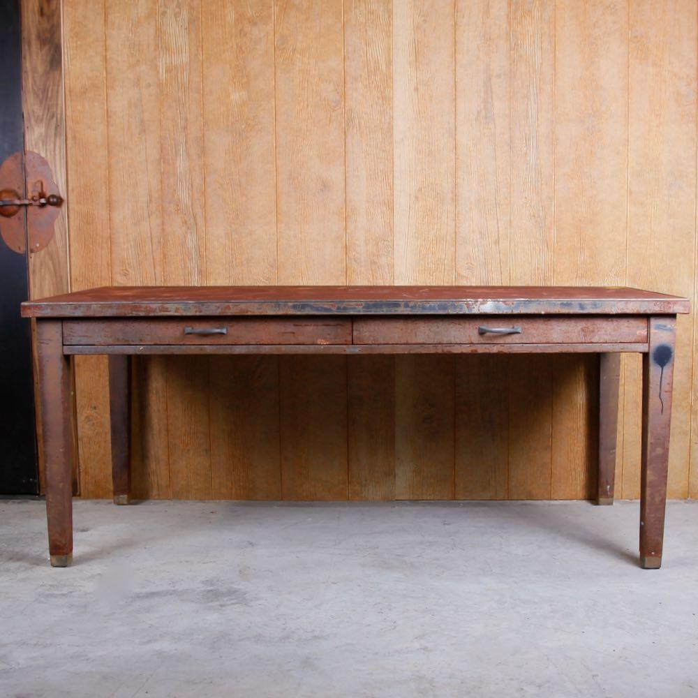 Vintage SteelCase Metal Table