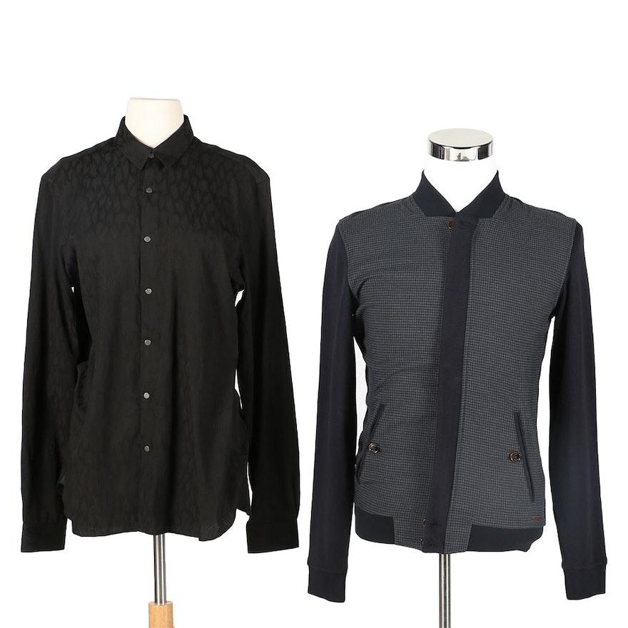 b0b70cf3c9af Ted Baker Jacket and Kooples Dress Shirt : EBTH