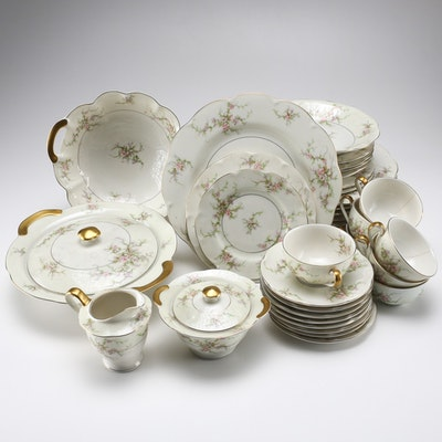 "Theodore Haviland ""Rosalinde"" China Collection"
