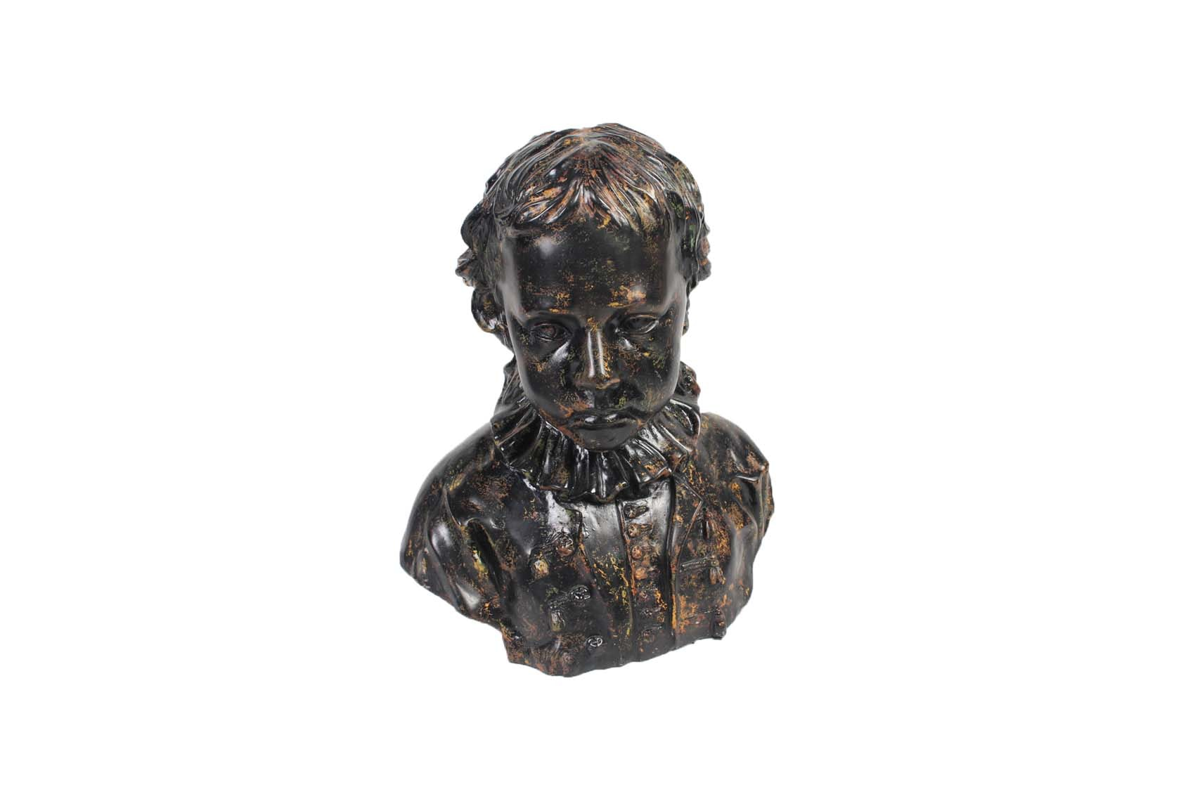 Chalk Bust Depicting a Child