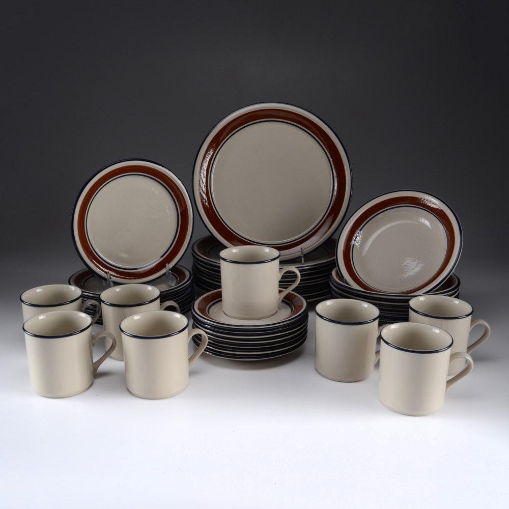 Ranmaru  Trend Brown  Oven to Table Dinnerware - ... & Ranmaru