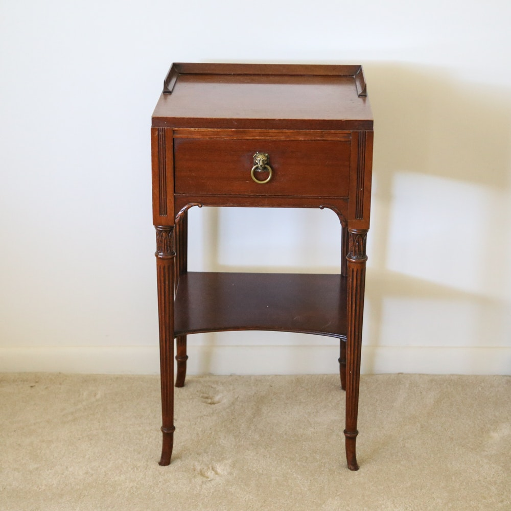 Vintage Northern Furniture Company Mahogany Nightstand ...