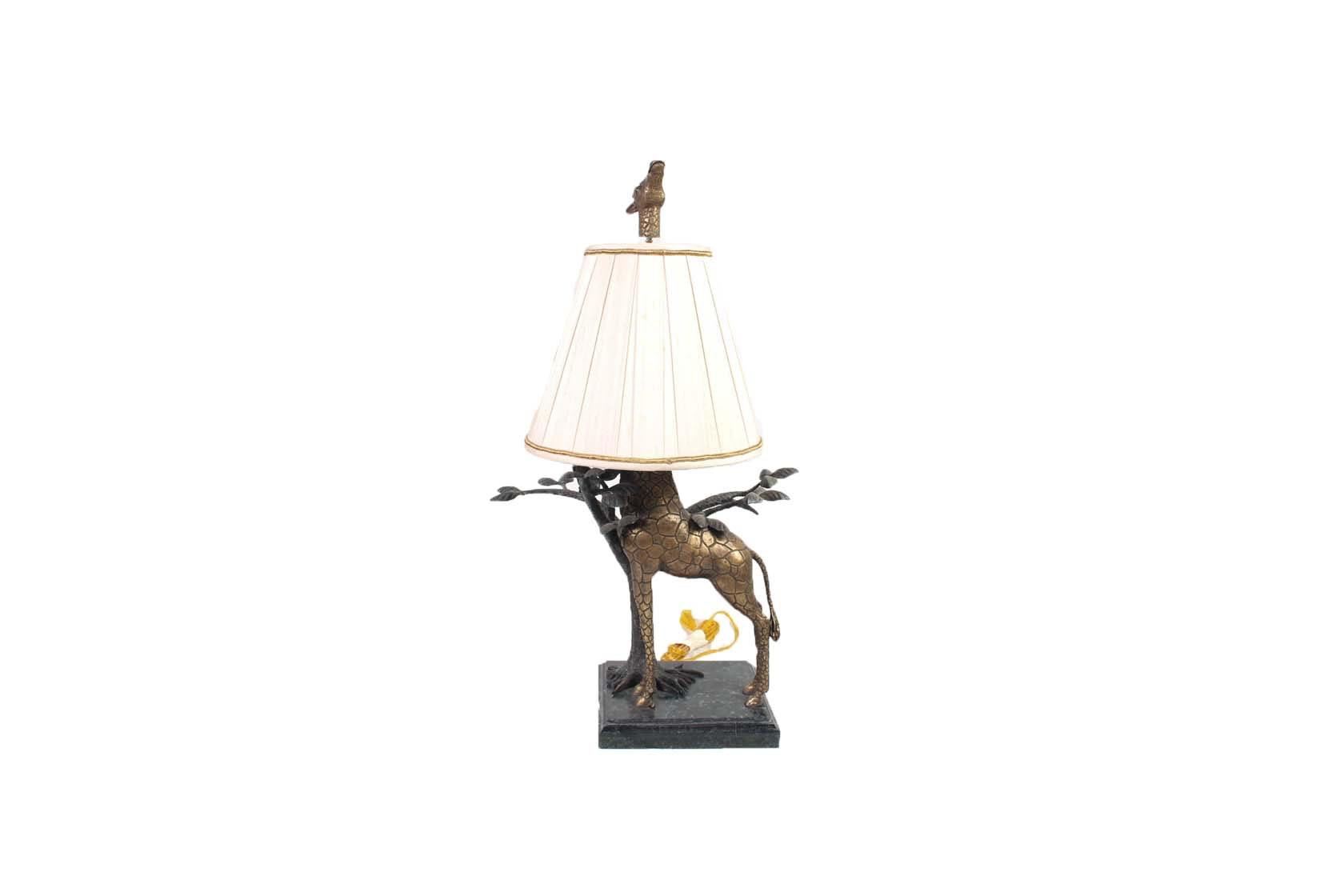 Figural Giraffe Lamp