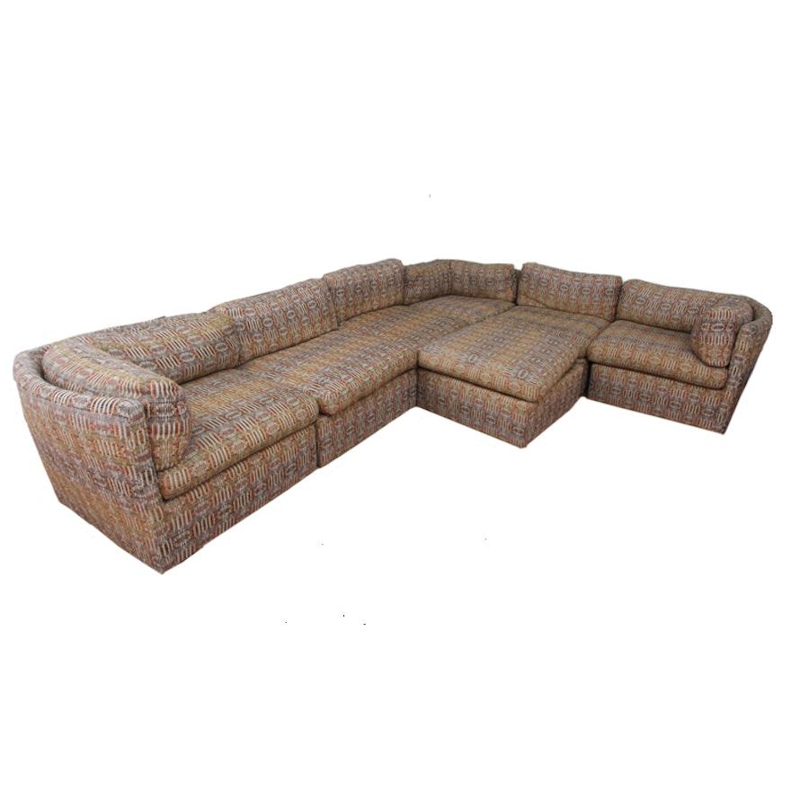 Vintage Thayer Coggin Sectional Sofa Ebth