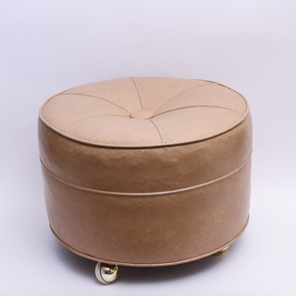 Hassock On Wheels ...