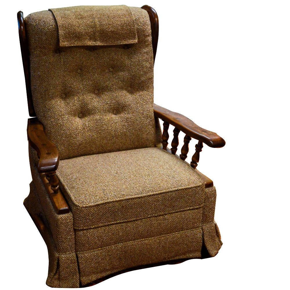 La-Z-Boy Wooden Rocker Recliner ...  sc 1 st  Everything But The House : lazy boy mission style recliner - islam-shia.org