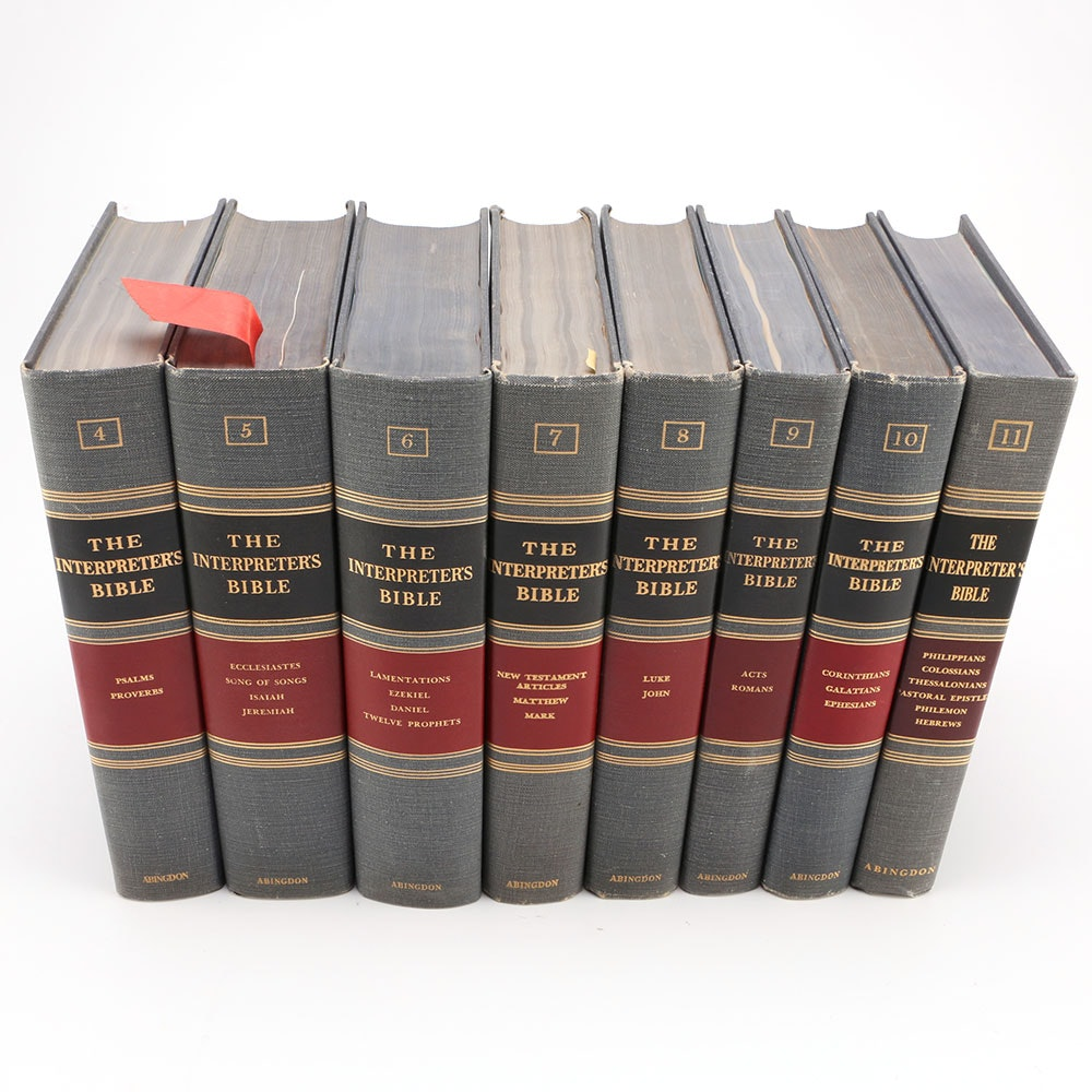 "Collection of ""The Interpreters"" Bible Books"
