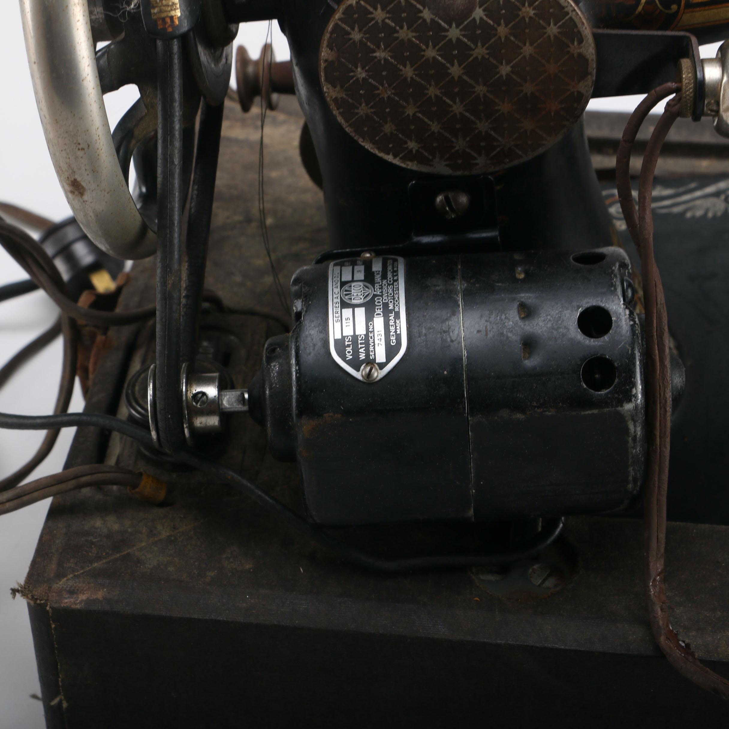 singer metal sewing machine