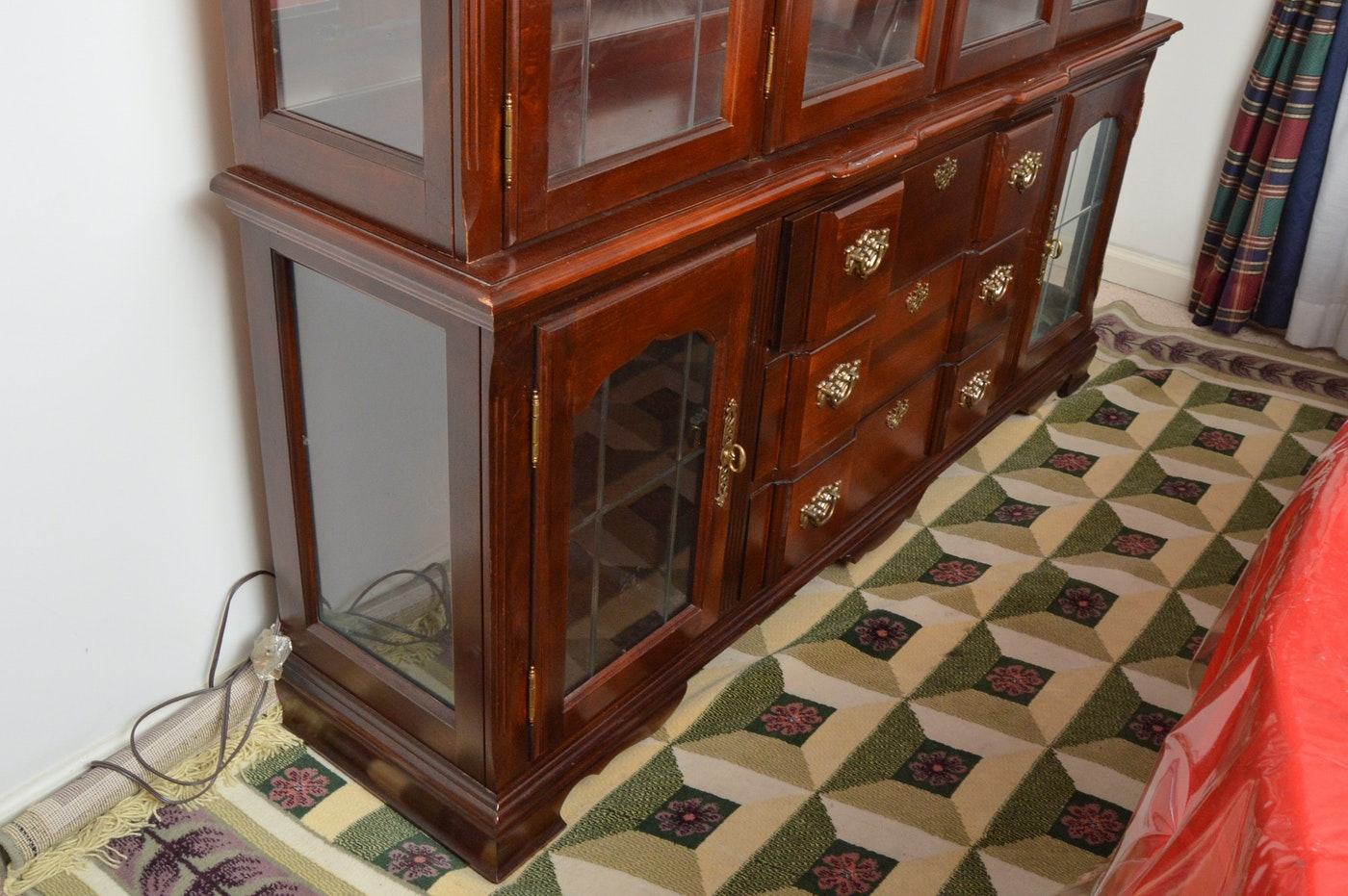 Singer Furniture Goddard Manor China Cabinet Ebth