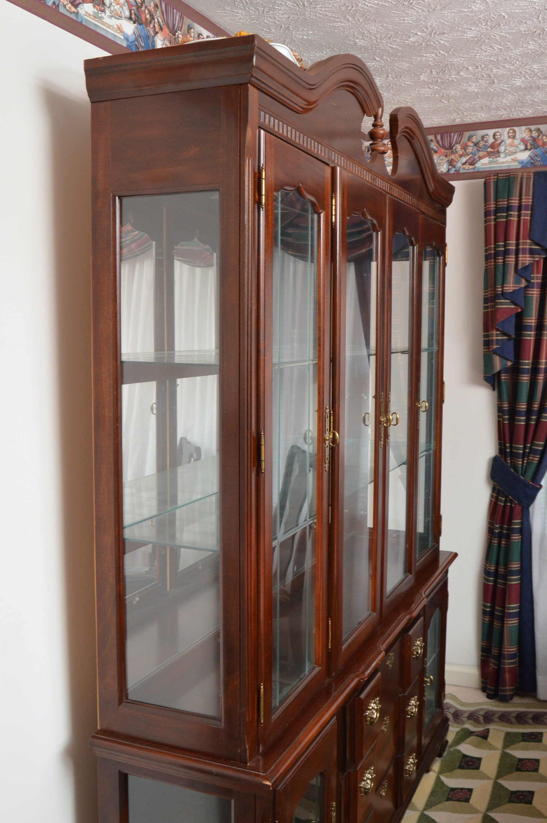 Singer Furniture Goddard Manor China Cabinet Ebth
