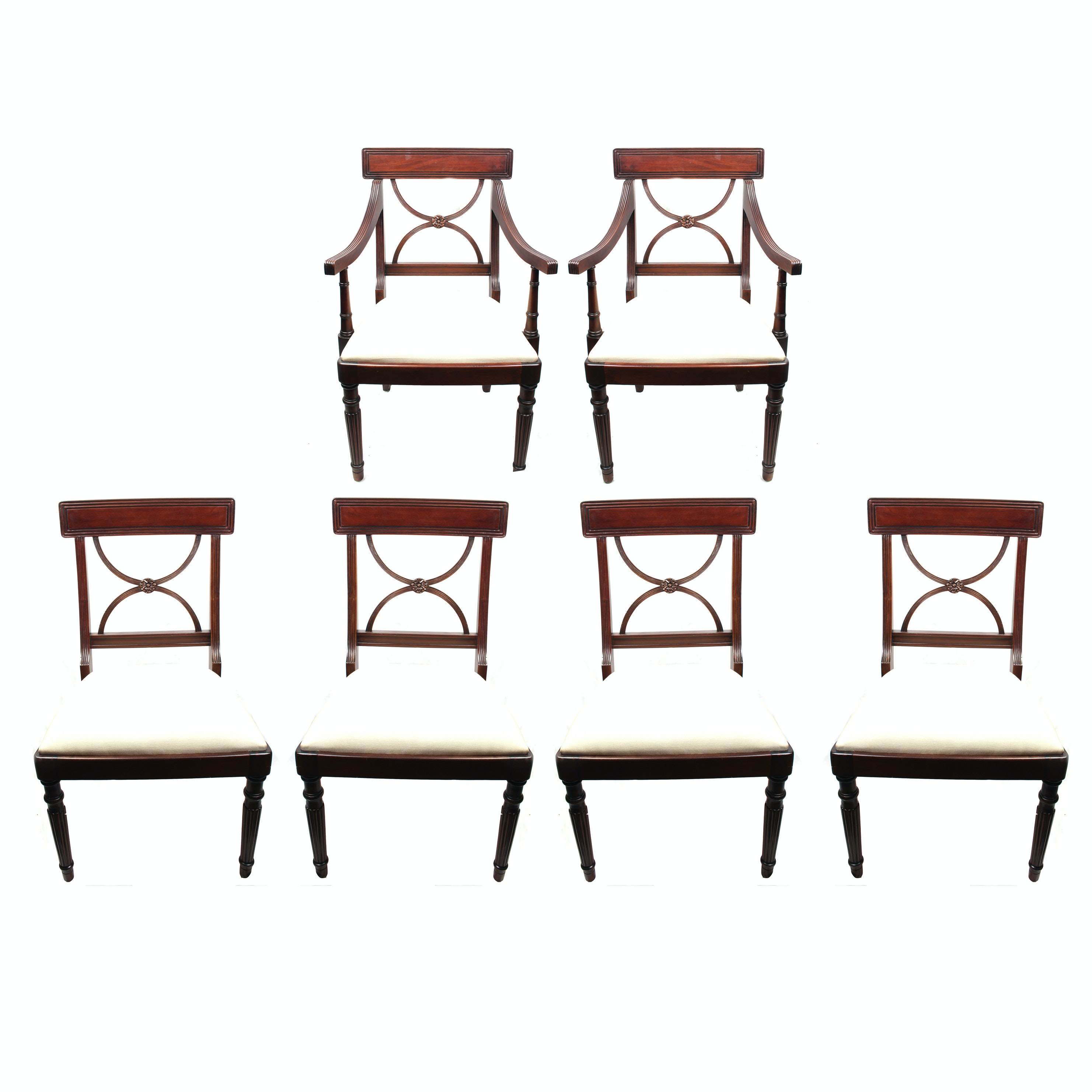 Set of Six Empire Style Chairs