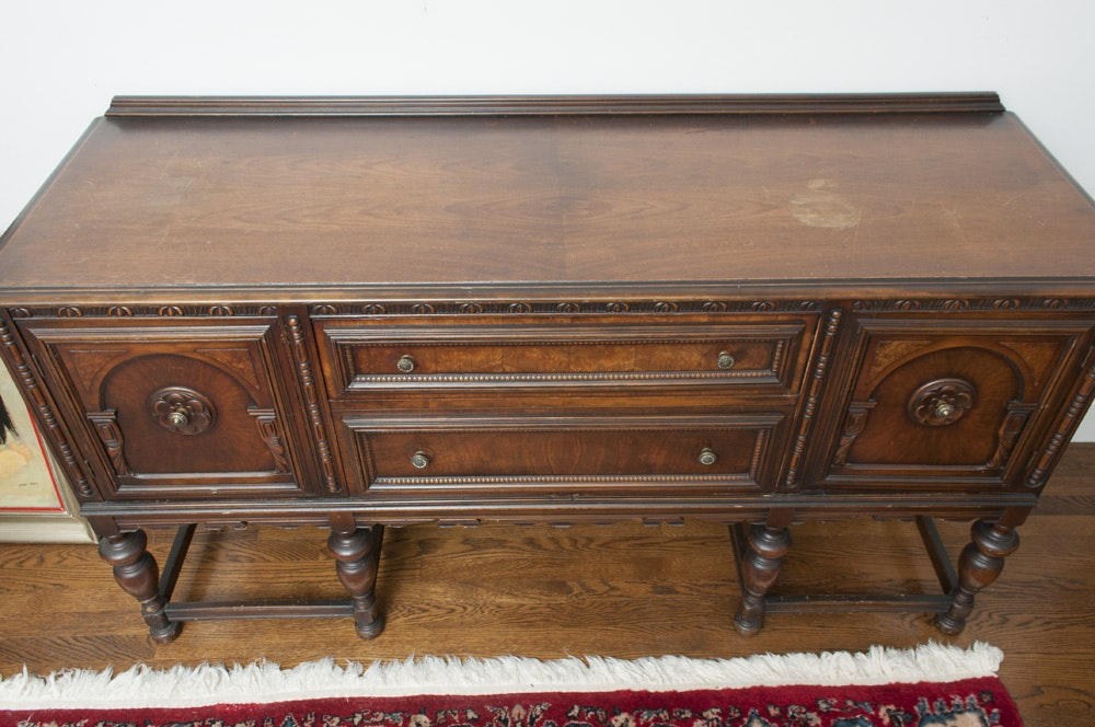 Antique Buffet Table Ebth