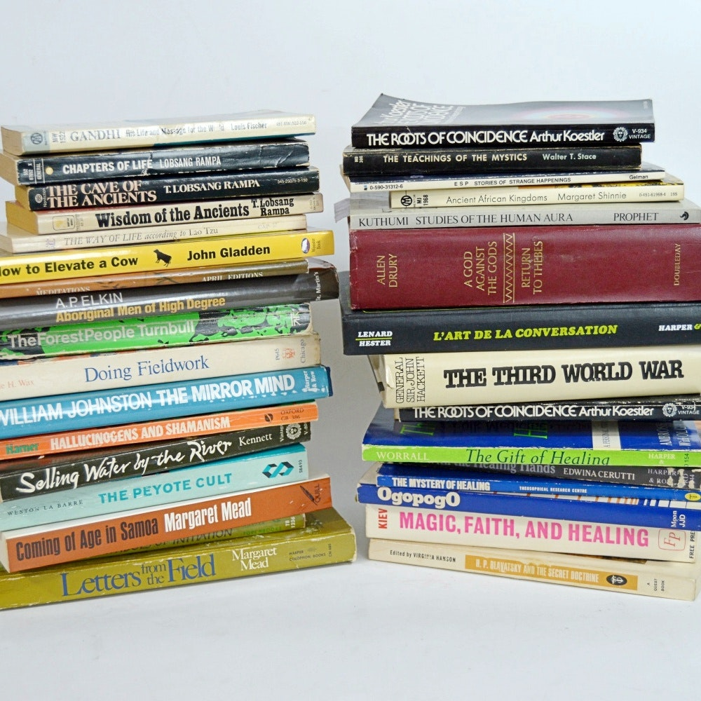 Books on Spiritualism, Healing, Shamanism