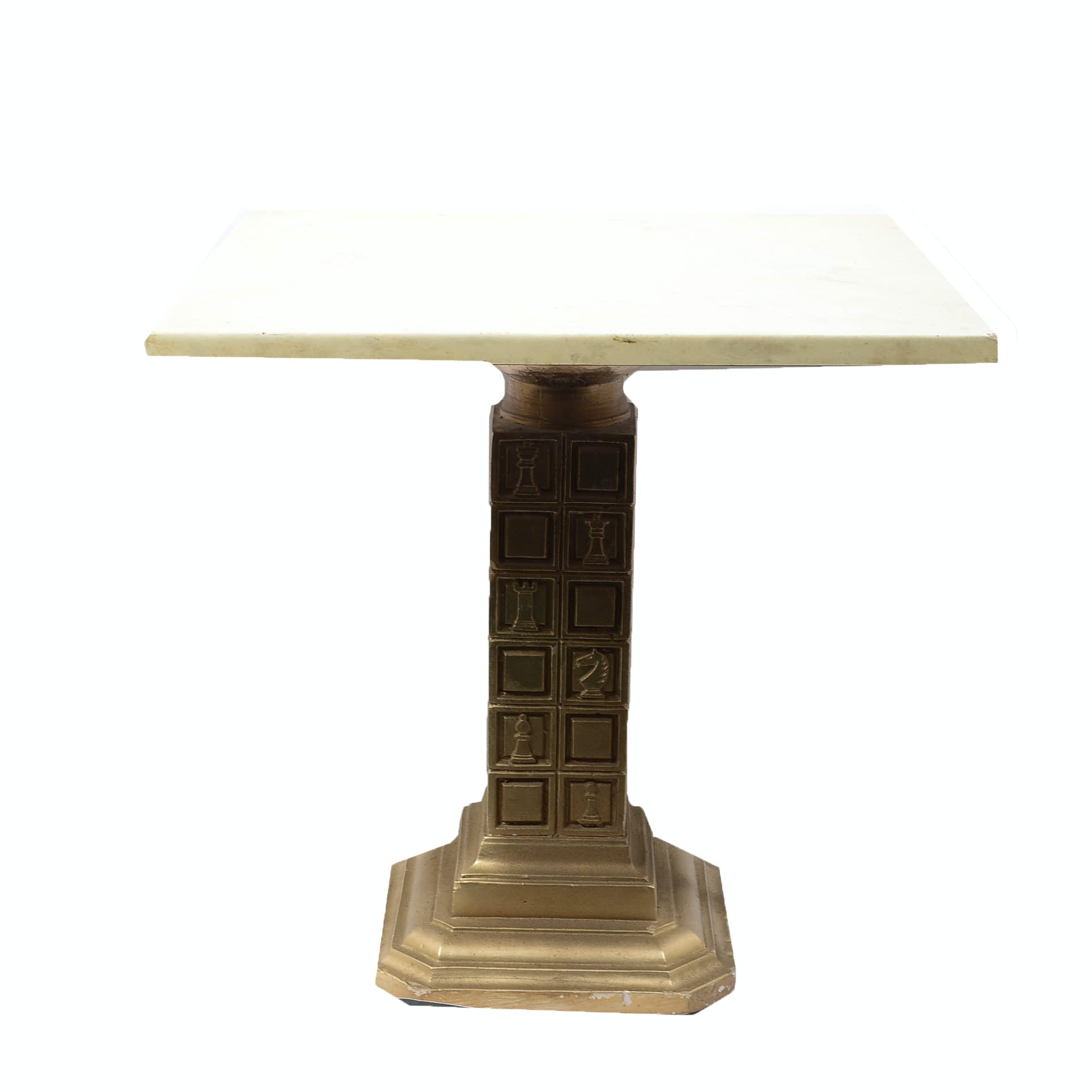 Marble Chess Side Table