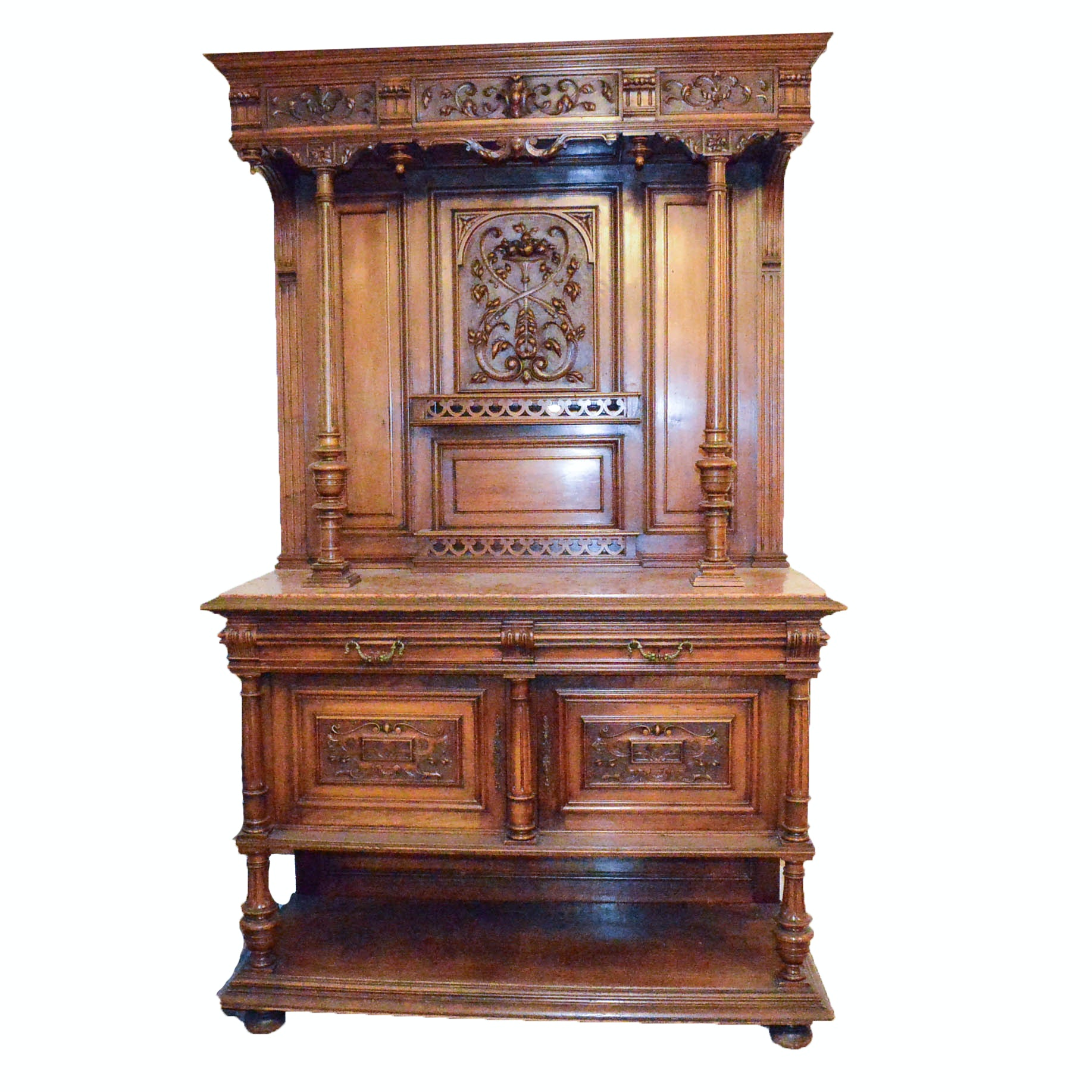 Hand Crafted Antique Spanish Buffet