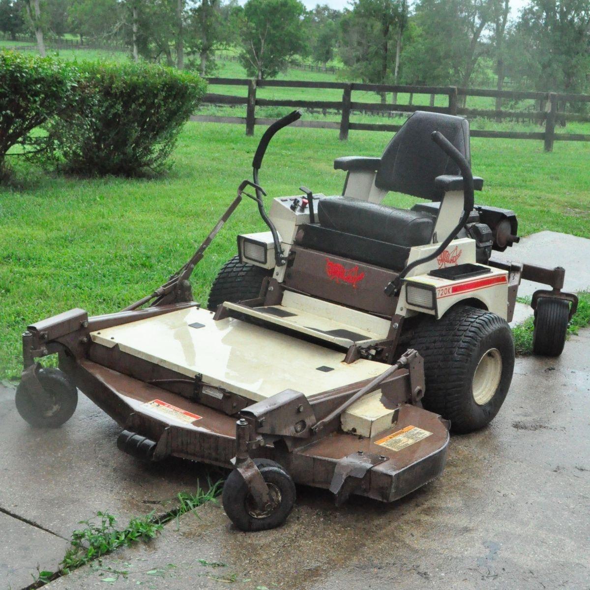 Grasshopper Zero Turn Riding Lawn Mower