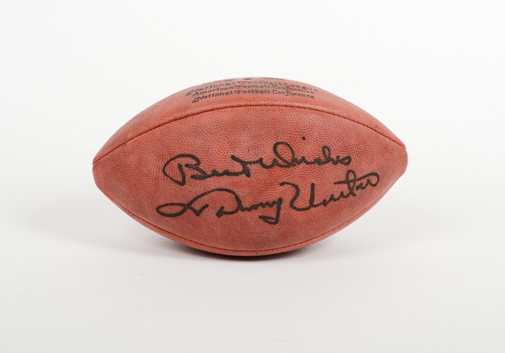 Johnny Unitas Signed Football