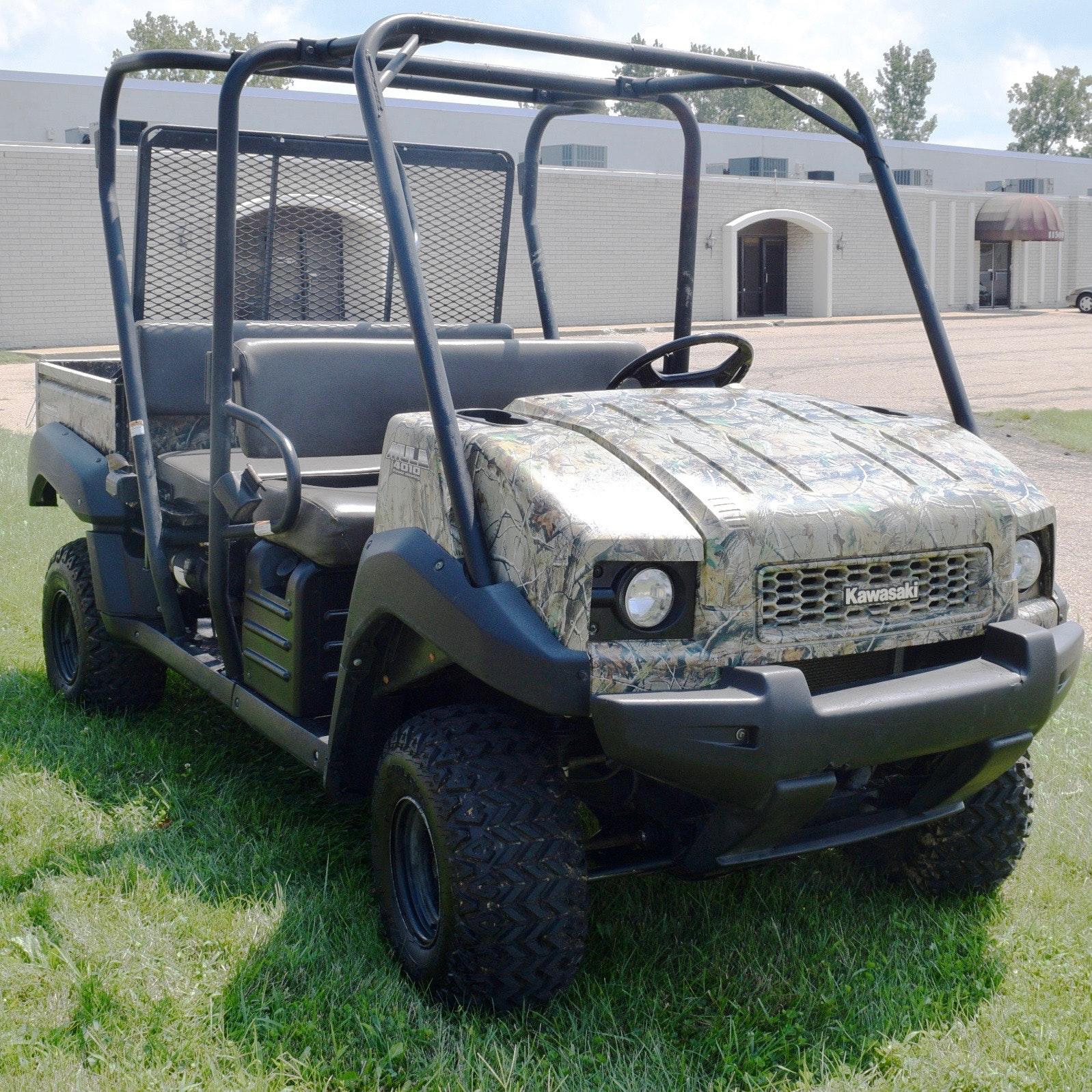 2010 Kawasaki Trans 4x4 4010 Mule