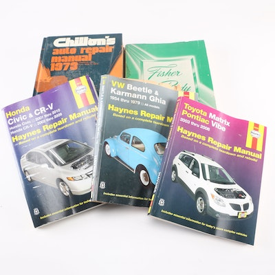 auto repair manuals for sale
