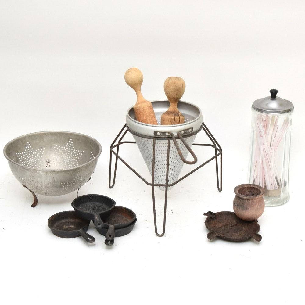 Vintage Kitchenalia and Cast Iron