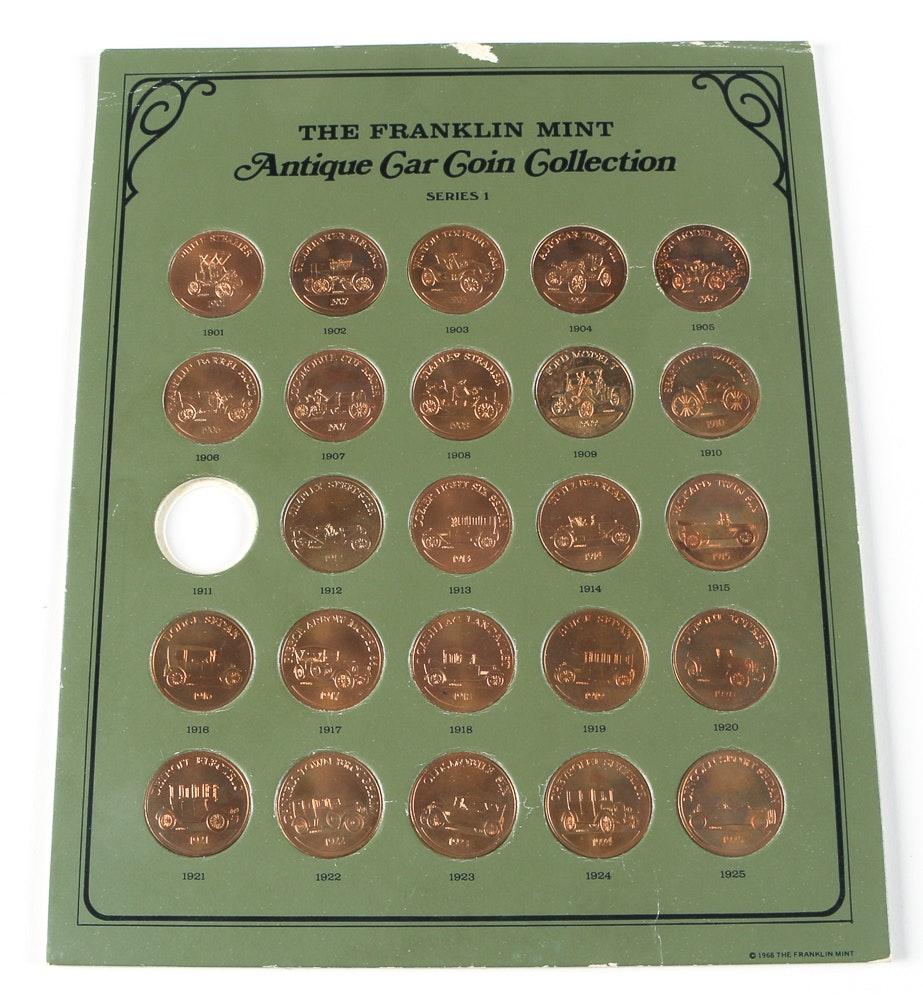 antique car coin collection series 1