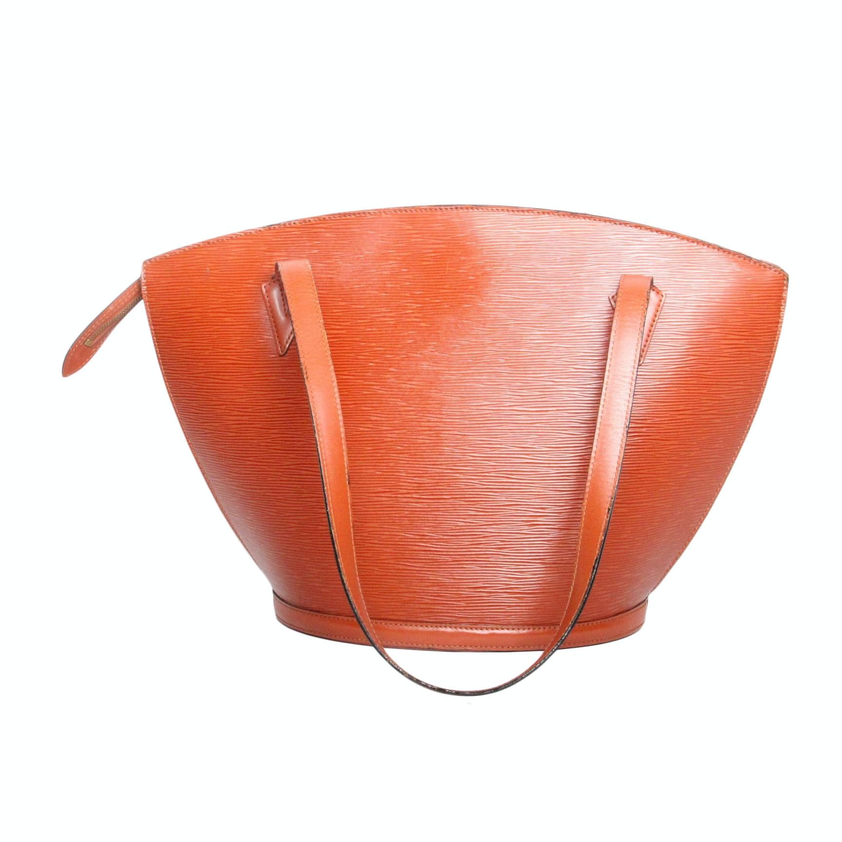 Louis Vuitton Saint Jacques GM Brown Epi Leather Shoulder Bag