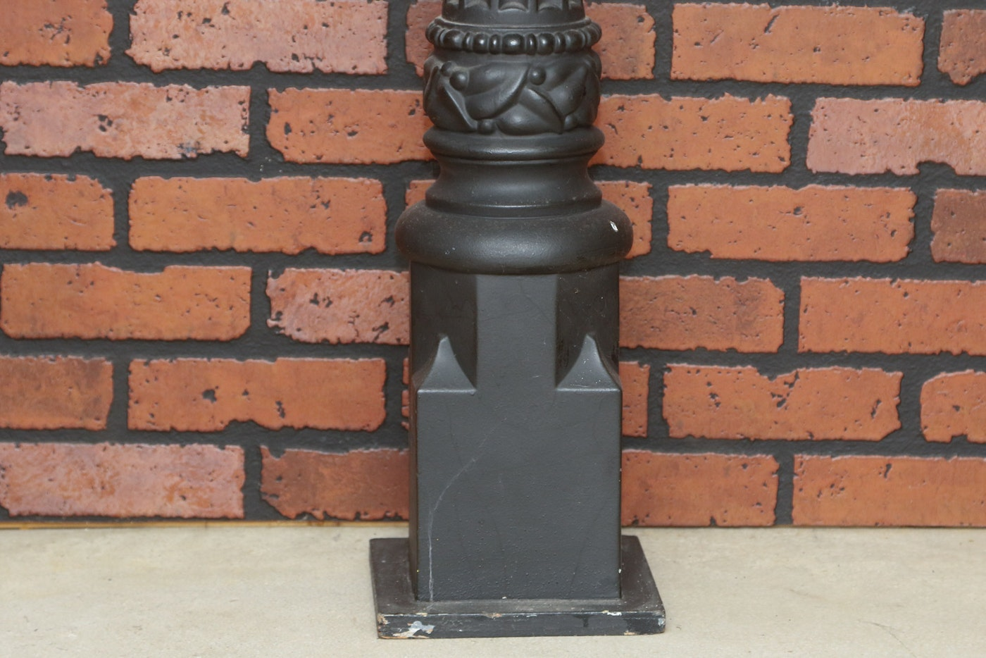 Decorative horse hitching post ebth
