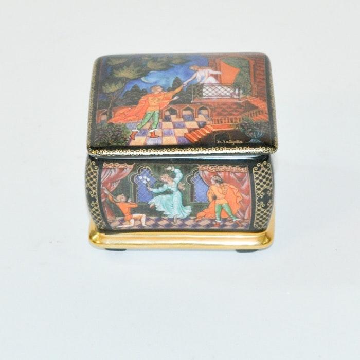 Ardleigh Elliot Romeo & Juliet Russian Music Box
