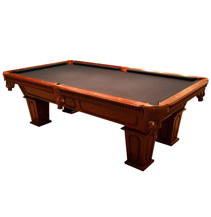 Cannon billiards pool table with slate top and accessories for 1 inch slate pool table