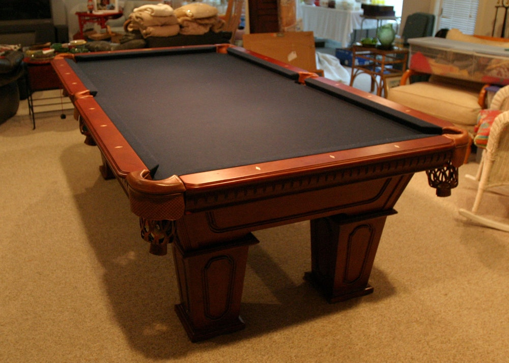 Cannon Billiards Pool Table With Slate Top And Accessories