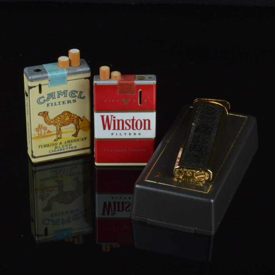 Group of Vintage Lighters