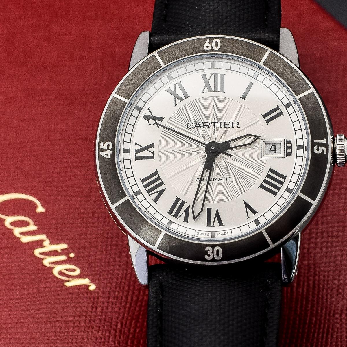 Men's Cartier Ronde Croisier de Cartier Wristwatch