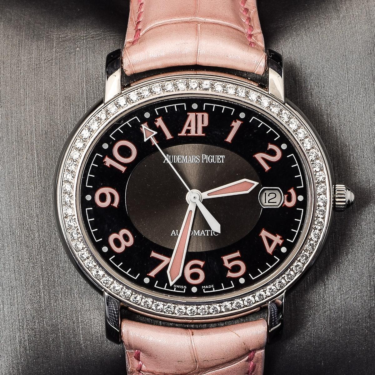 Women's Audemars Piguet Millenary Diamond Pink Wristwatch