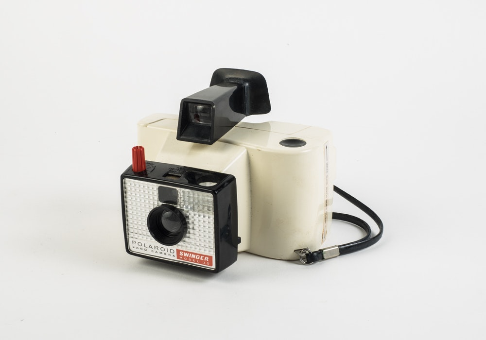 Polaroid swinger instant land camera