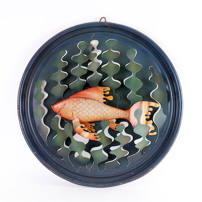 Fine art auction houses art auction website in for Koi metal wall art