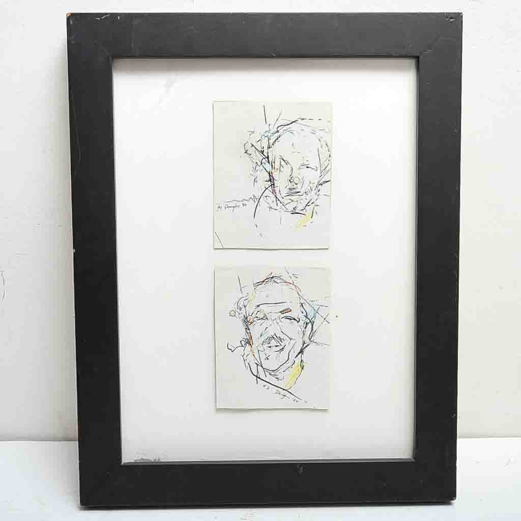 """""""#1"""" and """"#2"""" Sketches by S. Douglas"""