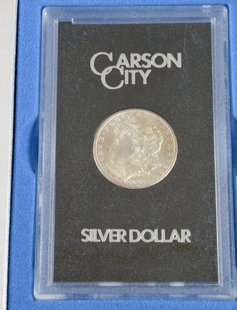 Boxed GSA 1883 CC Silver Morgan Dollar