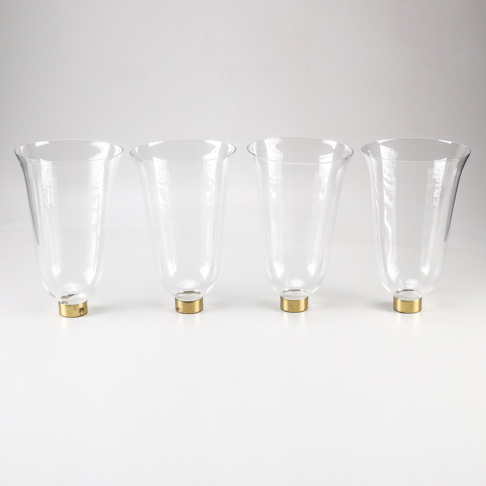Glass Lamp Shade Grouping
