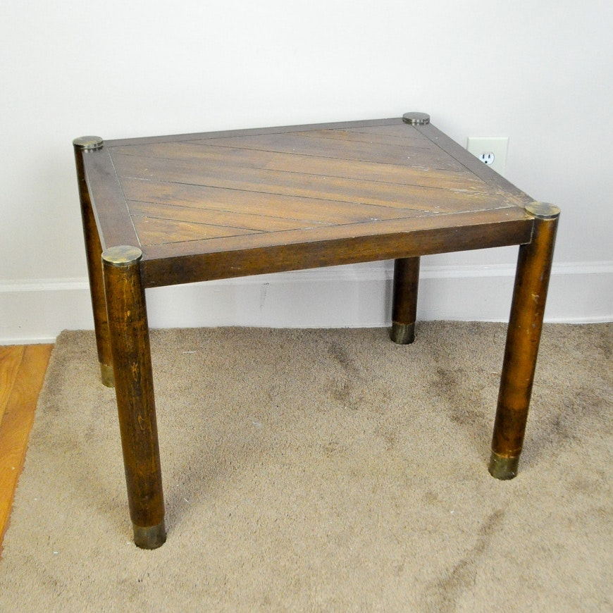 Walnut Coffee Table By Lane Furniture ...