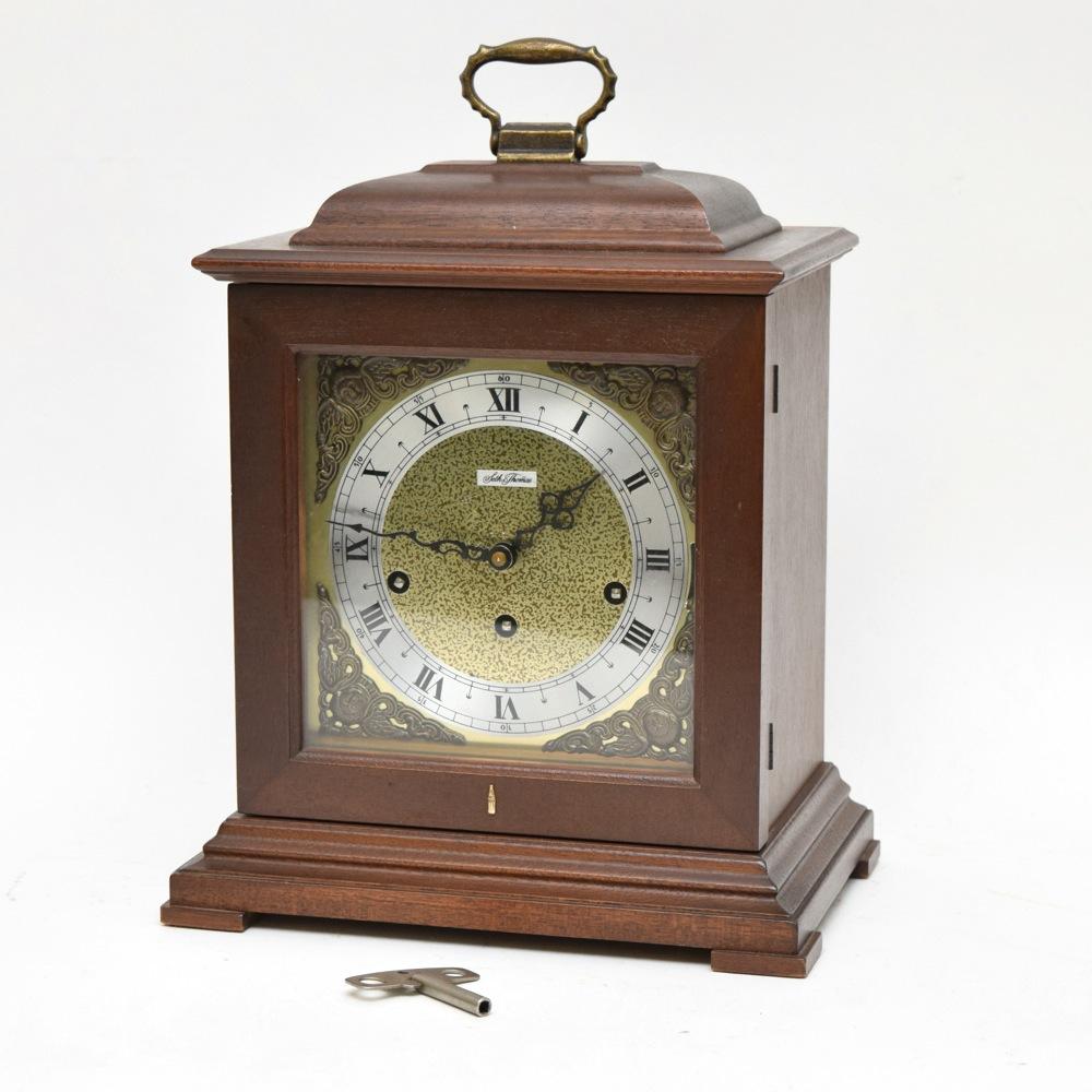 Seth Thomas Legacy 3W Mantel Clock With Original Manual EBTH