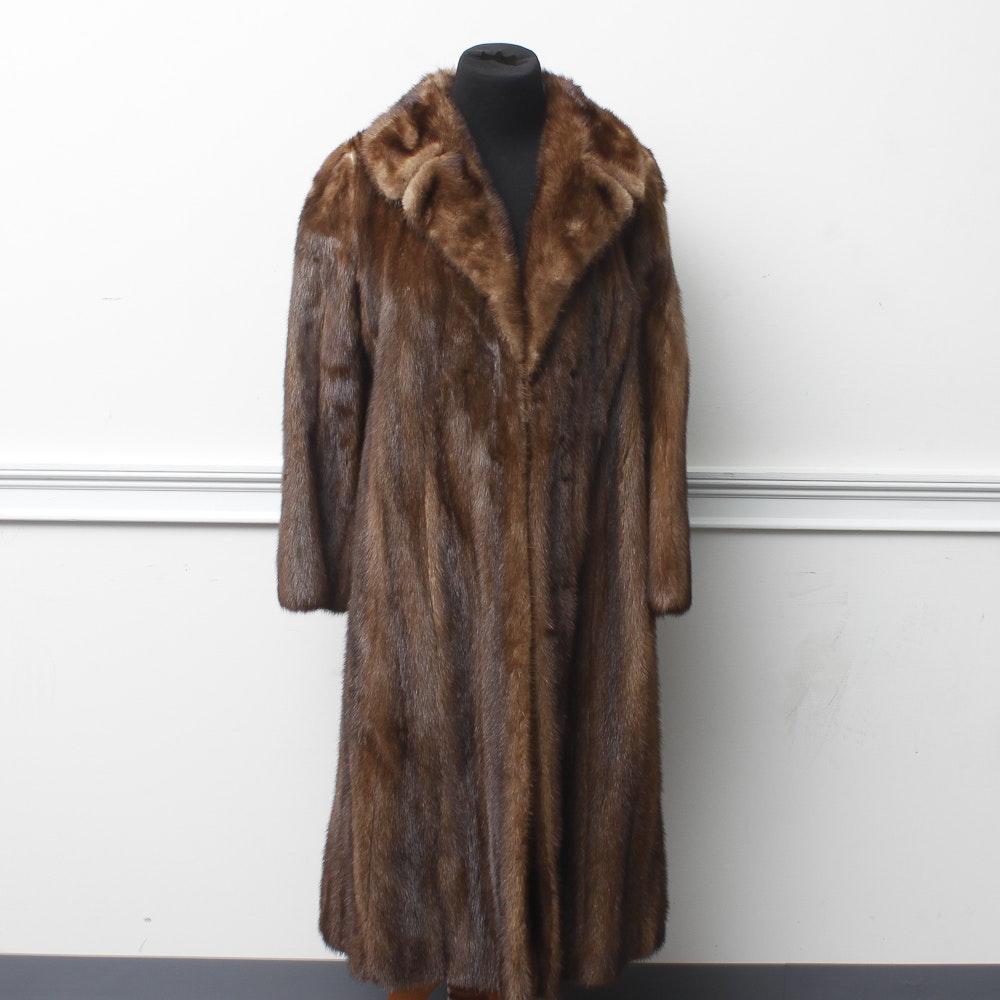 Christie Brothers Mink Coat