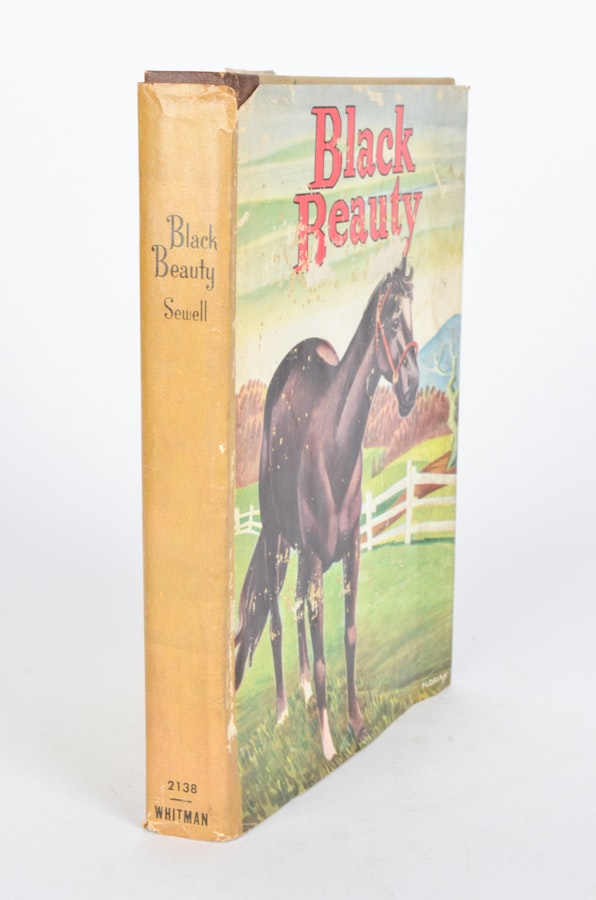 Vintage Hardcover Book : Vintage anna sewell quot black beauty hardcover book ebth