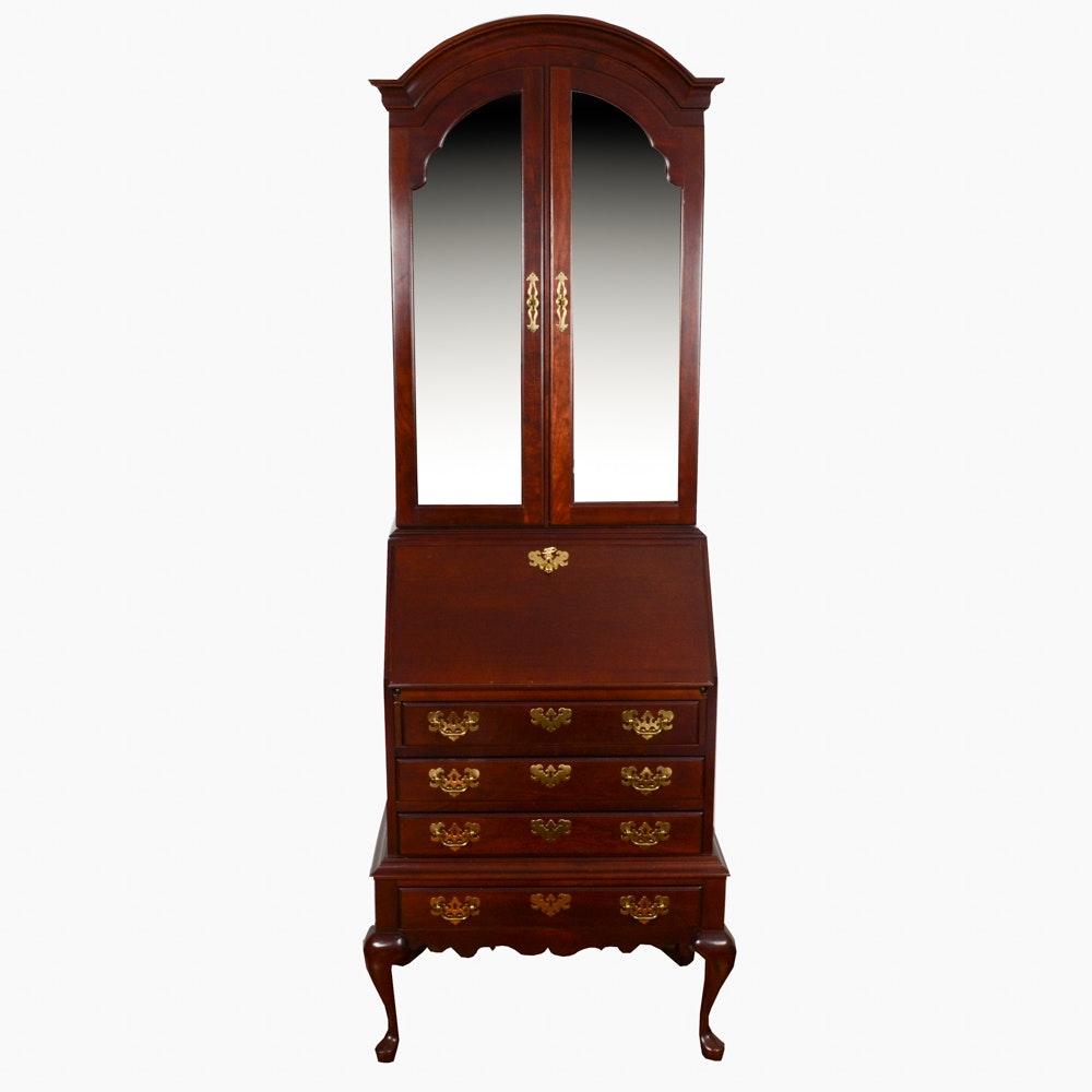 Jasper Furniture Lighted Display Top Secretary Desk