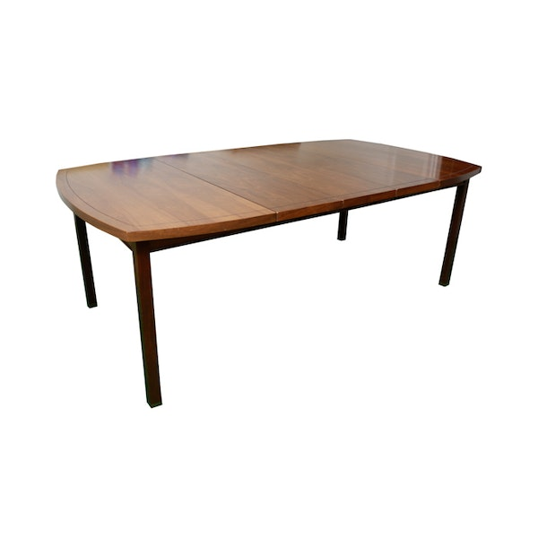 Vintage Mid Century Dining Rooms: Vintage Mid-Century Modern Dining Room Table With Leaves