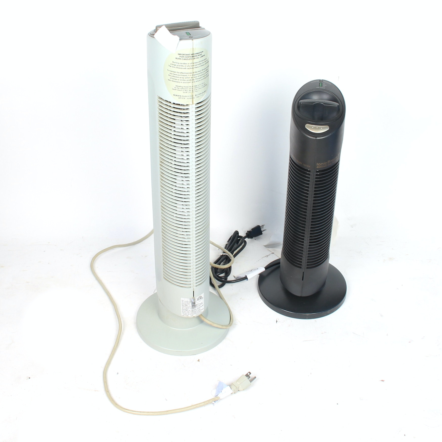 Pair of Ionic Air Purifiers