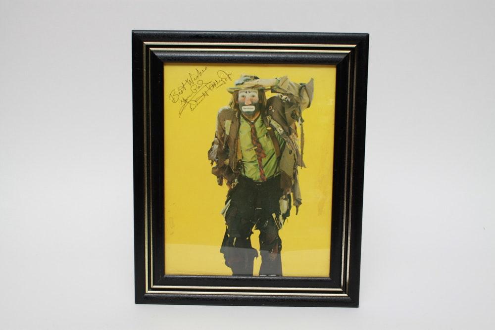 Emmett Kelly Jr Prints With Autograph Ebth